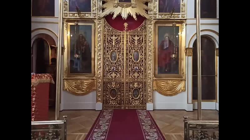 Литургия в день перенесения мощей святителя и чудотворца Николая из Мир Ликийских в Бар
