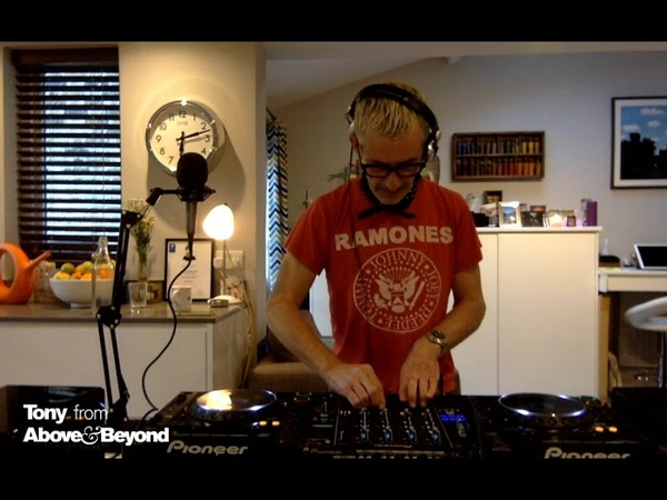 Tony McGuinness from Above Beyond at home TATW 001 Recreation