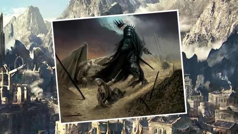 [Братство Кольца] Как Саурон Выбрал Короля Чародея? Про Назгул