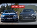 2018 BMW 5 Series vs 2017 Audi A5 Sportback Comparison - INTERIOR, EXTERIOR, TEST DRIVE