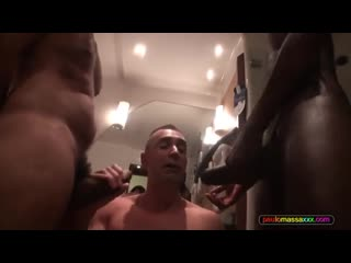 Paulo massa 3some big black dick hard fuck
