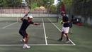 Professional tennis training with coach Brian Dabul (Federer, Nadal, Djokovic)