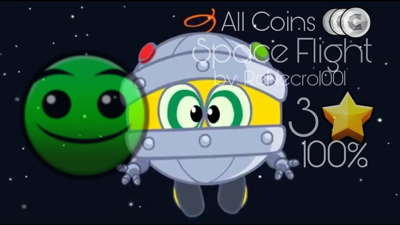 GDKS Space Flight by ReNecro1001 Normal 3 stars 100% All Coins