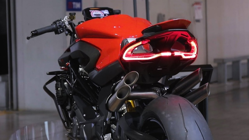 MV Agusta Brutale 1000 rr Hyper Naked First look review from KNOX