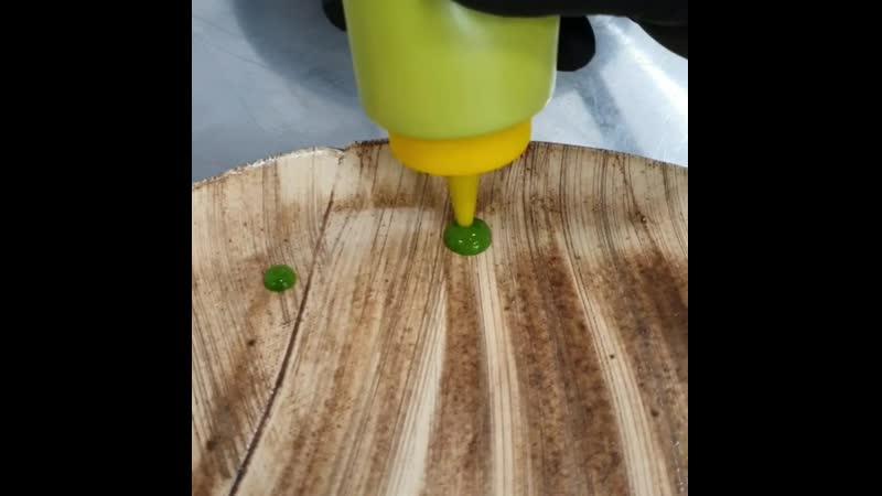 Текстуры в блюдах как сделать гель из зелени