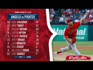 MLB   Pirates vs Angels   1/3 Game