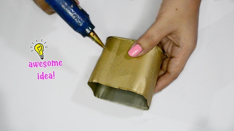 EASY AND LOVELY WAYS TO REUSE RECYCLE TIN CAN AND CARDBOARD BOX! Best Reuse Idea