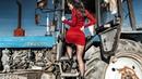 Трактор Беларус, поле, свежий воздух и деревня вылечит всех