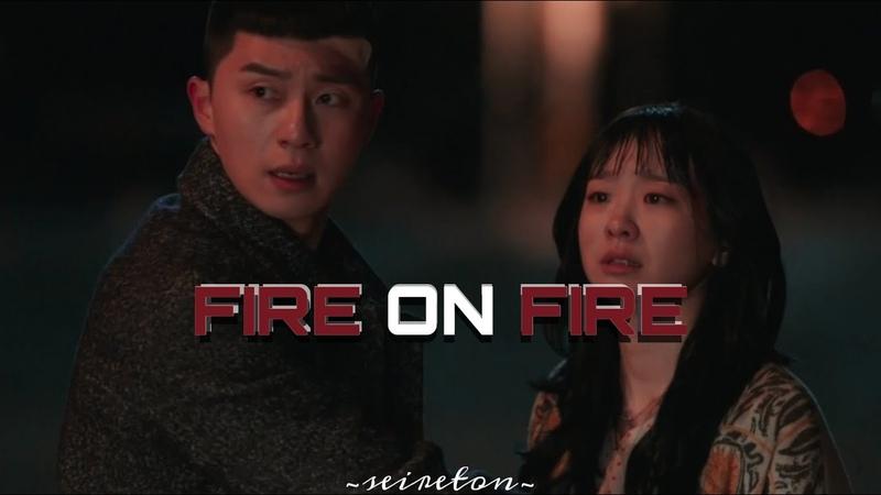 Sae Ro Yi x Yi Seo ItaewonClass fire on fire