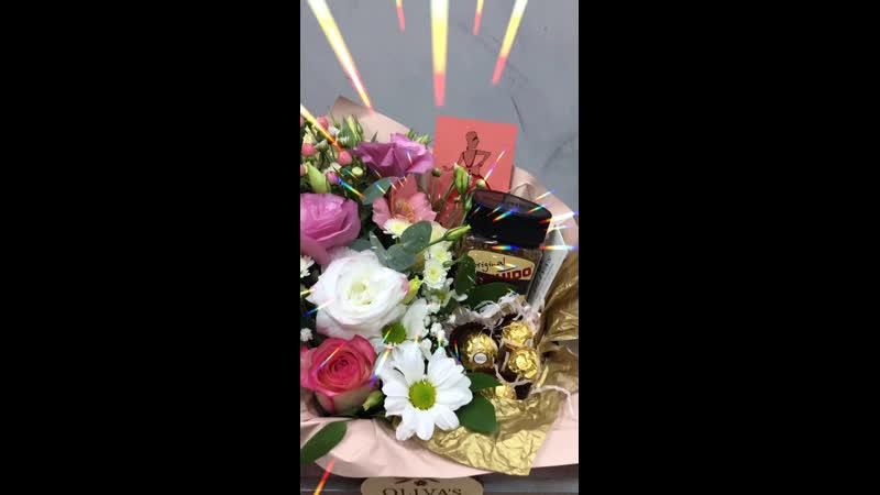 Цветочный подарок Bushido