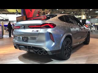 2020 bmw x6m competition 617hp donington grey metallic _ in-depth video walk aro