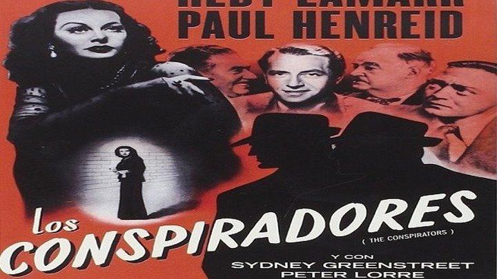 LOS CONSPIRADORES 1944 de Jean Negulesco con Hedy Lamarr Paul Henreid Sydney Greestreet Peter Lorre by Refasi