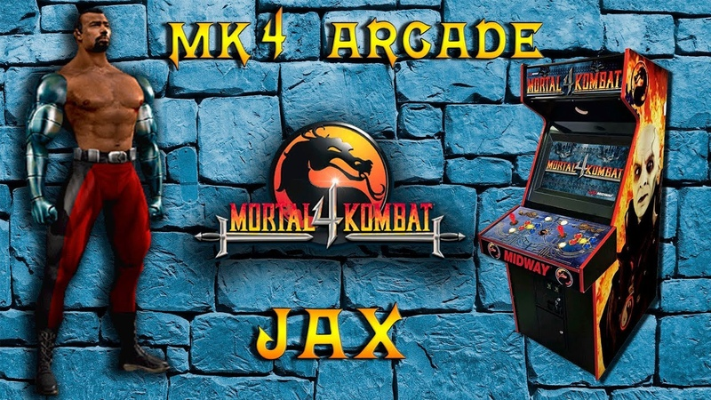 Mortal Kombat 4 ARCADE MAME 2019 Jax Playthrough Master II