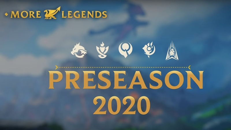 MoreLegends Preseason 2020 Overview All you have to know about Season 10 changes