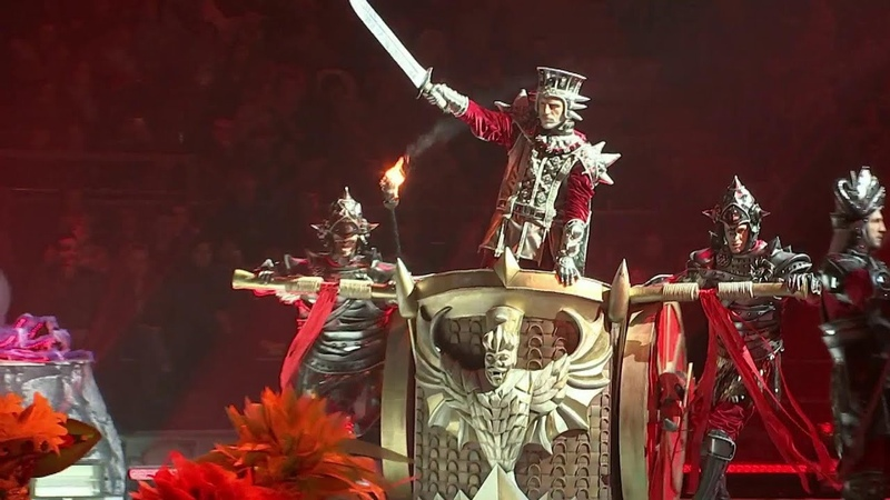 В Москве состоялась грандиозная премьера шоу Спящая красавица: легенда двух королевств.