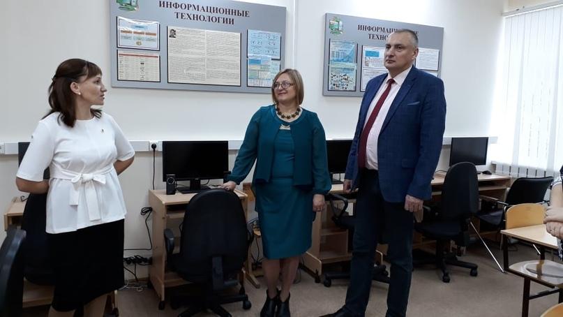 Компьютерный класс в МОУ «ООШ» п. Визябож