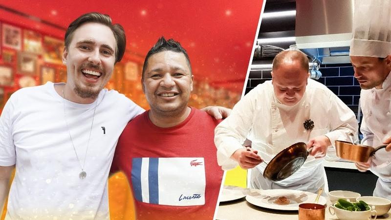 Fabio do Pé de Fava avalia Menu Executivo do Jacquin Restaurante do Masterchef 9 Gaba