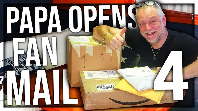 PAPANOMALY OPENING FAN MAIL 4