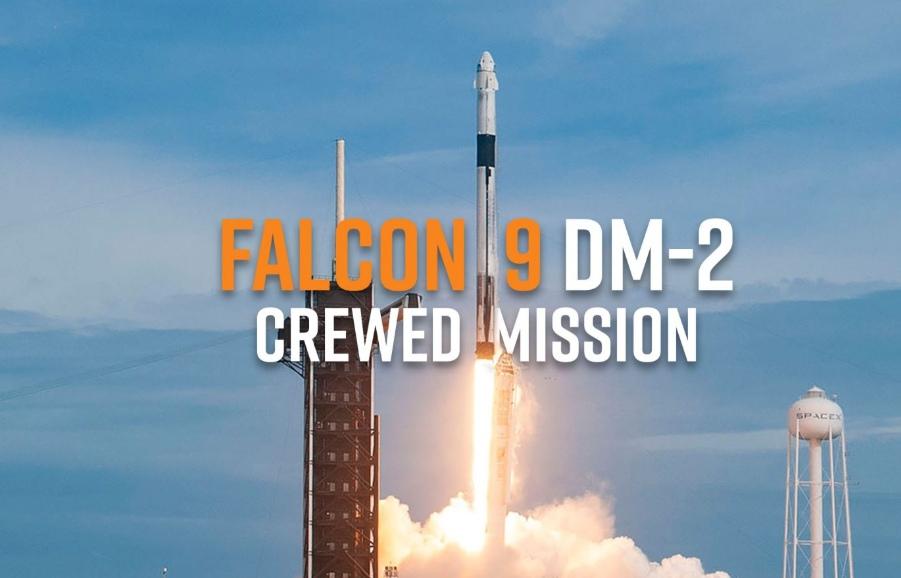 RAGON 2 DM-2: ПЕРВАЯ ПИЛОТИРУЕМАЯ КОСМИЧЕСКАЯ МИССИЯ SPACEX | EVERYDAY ASTRONAUT