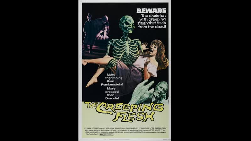 El The Creeping Flesh 1973 Esp Cast