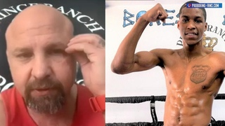 "BONES ADAMS ON KEITH HUNTER ""AT 135 HE'LL BEAT LOMACHENKO HE'S LIKE DEONTAY WILDER BUT SMART!"""