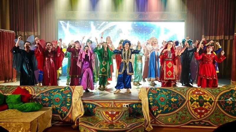 Новогодний мюзикл сказка Дивный Восток Аладдин Театр Звезда надежды