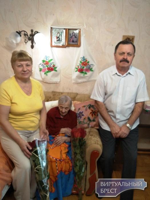 100-летний юбилей отметила  долгожительница Ленинского района