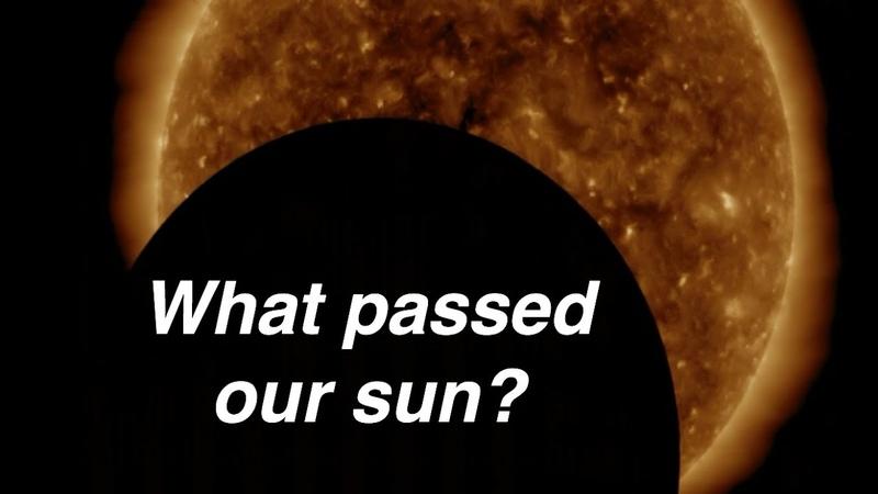 Moon eclipsing the sun Feb 23 2020 UFO Sighting News