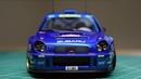 Building a Scale Model Tamiya Subaru WRC 2001