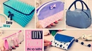 5 DIYs ZIPPER STORAGE BAG TUTORIAL You Can Sew It Even If You Have No Skills