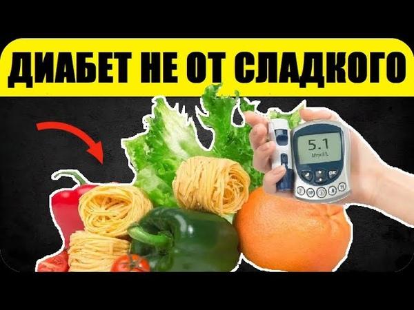 Видео Диабет Не От Сладкого! Чтобы Сахар Был в Норме, Ешьте Эти Продукты, Понижающие Сахар в Крови смотреть онлайн