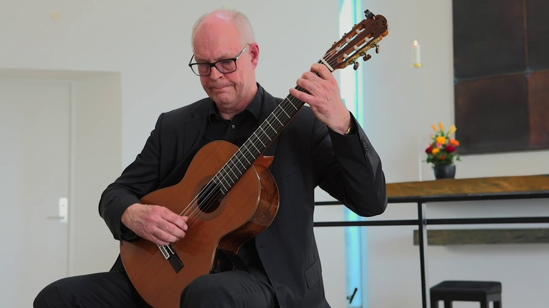 Malaguena by Soren Madsen Danish Guitar Performance Soren Madsen