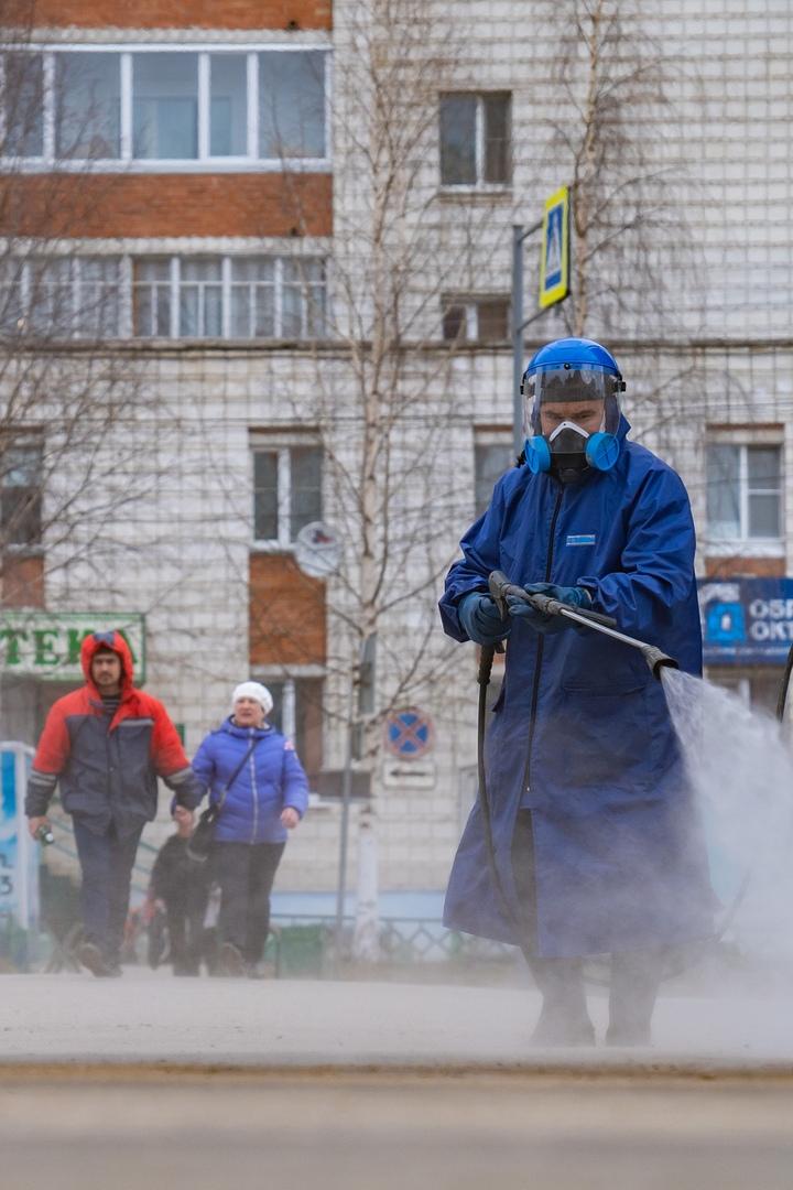 К дезинфекции города подключилась частная компания, изображение №5