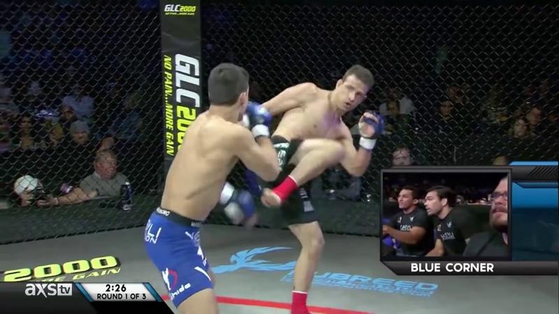 Chinzo Machida vs Brian Wood RFA 11 Fight of the Week Flying Knee