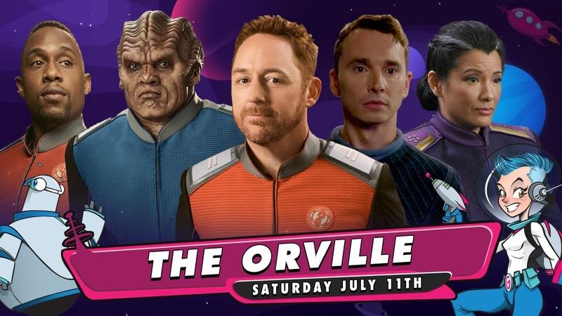 Orville Live Stream Q A with Scott Grimes Kelly Hu J Lee Peter Macon Mark Jackson