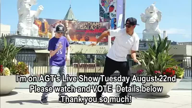Freestyle with Poppin John Rehearsal Break! AGT Voting Almost Here!.mp4