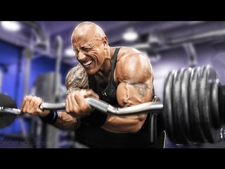 Dwayne The Rock Johnson - Workout Motivation 2017 The Fate of the Furious