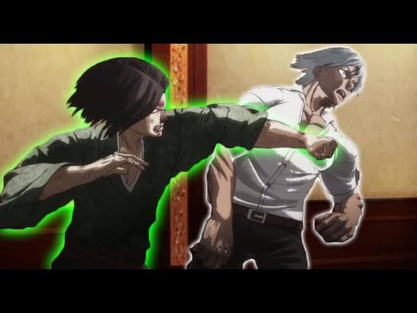Kengan Ashura Fight Kaneda Suekichi VS Himuro Ryo