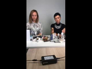 Как сделать брови самой себе   Прямая трансляция от imkosmetik   Ведущие: Елена Бут и Ольга Чулкова