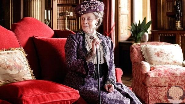Мэгги Смит отгоняла помощника режиссера тростью на съемках «Аббатства Даунтон»
