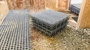 How I Clean Under The Heavy Duty Plastic Floor Grates In My Small Racing Pigeon Loft!!
