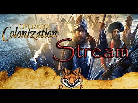 СТРИМ Sid Meier's Civilization 4 Colonization We the People Играем за индейцев Часть 1