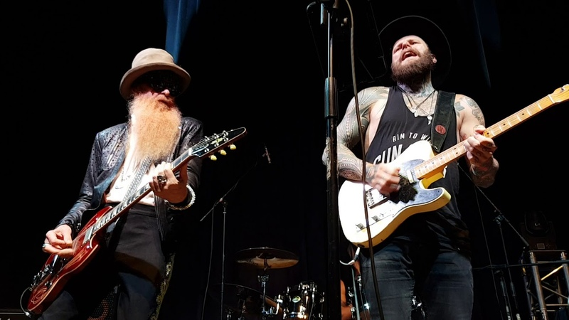 Billy F Gibbons w Supersonic Blues Machine La Grange Casino Zollverein Essen 11 07 2018