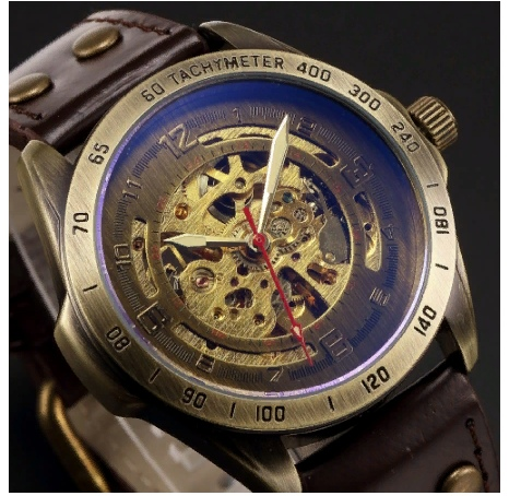 Мужские часы стимпанк