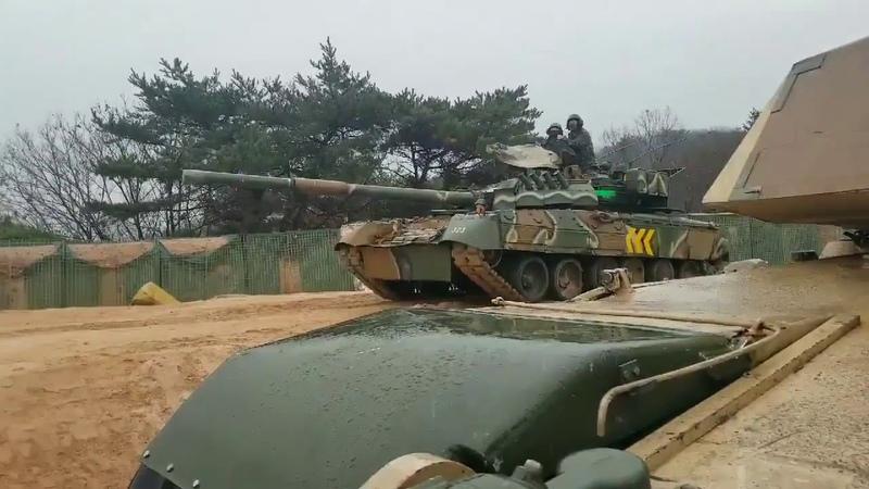Танки Т 80У южнокорейской армии