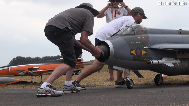 HUGE jet powered RC planes and helis