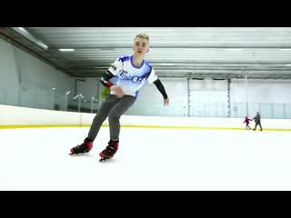 Micro ice skates - freestyle skating on ice