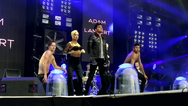Adam Lambert Ghost Town Fusion Festival 30 8 2015