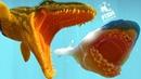ПРОГНАДОТОН СИЛЬНЕЕ МОЗАЗАВРА! ЭТУ РЕПТИЛИЮ БОИТСЯ ДАЖЕ МЕГАЛОДОН! РЫБИЙ ЧЕЛЛЕНДЖ FEED AND GROW FISH
