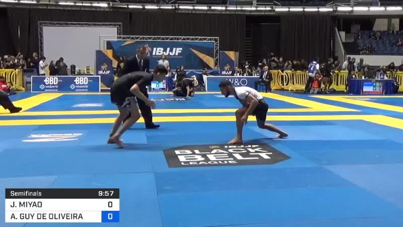 Joao Miyao VS Anthony Oliveira NoGiWorld2019